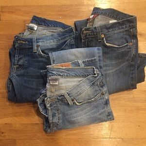Bundle of 3 lucky brand Jeans